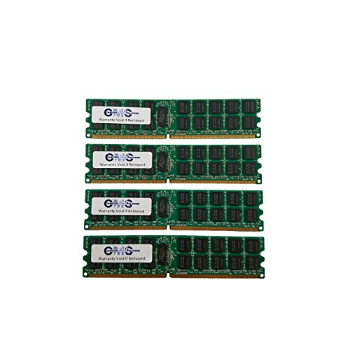 16Gb (4X4Gb) Memory Ram Compatible with Dell Precision Workstation 670 Dual Rank For Servers Only By CMS (B48) - Precision Workstation 670
