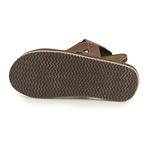 10 PDQ EU Brown 44 Herren Jimmy Crossover UK Sandale qwrX7wS