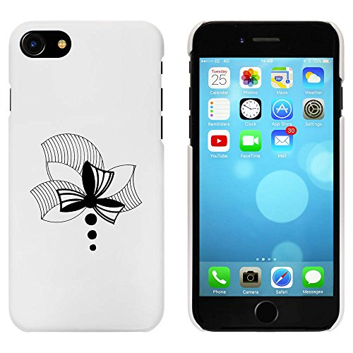 Blanc 'Abstraite Arc' étui / housse pour iPhone 7 (MC00057942)