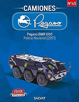Desconocido 1//43 TANQUETA BMR 600 POLICIA Nacional ESPA/ÑA 2017 SALVAT