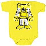Yo Gabba Gabba I Am Plex Snapsuit Infant Yellow Onesie Baby Romper (Infant 12-18 Months)
