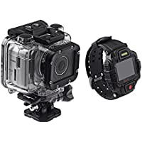 Monoprice MHD Sport 2.0 Wi-Fi Action Camera + Live View RF Wrist Remote,112570