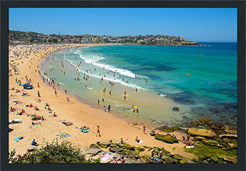 Picture Perfect International Bondi Beach, Nsw Framed Plexiglass Wall - Bondi Nsw