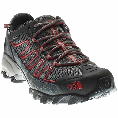 The North Face Mens Ultra 109 GTX Hiking Shoe Zinc Grey/Pompeian Red - 10 D(M) US