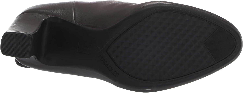 Aerosoles Women's Hashtag Knee High Boot Grey Leather