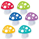 Creative Teaching Press Woodland Friends Toadstools 6'' Designer Cut-Outs (6006)