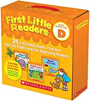 First Little Readers Parent Pack: Guided Reading Level D: 25 Irresistible Books That Are Just the Right Level