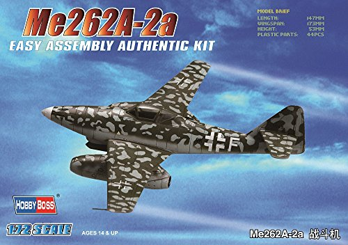 hobby-boss-me-262a-2a-easy-assembly-kit-airplane-model-building-kit