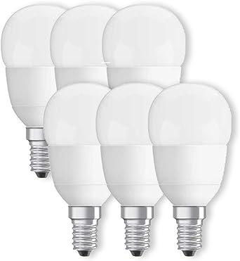 wie 40W Tropfenlampe 5er-PACK OSRAM LED BASE Classic P40 E14 2700K A