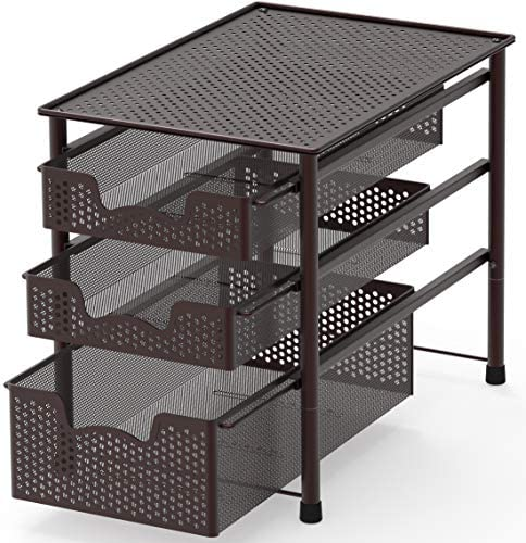 Simple Houseware Stackable Sliding Organizer