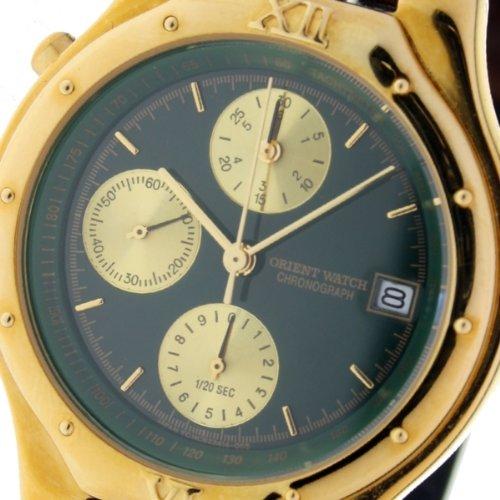 Orient Watch Hc-8245-b Reloj Analogico Para Hombre Colección Xernus Caja De Acero Inoxidable Esfera Color Verde: Amazon.es: Relojes