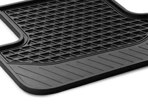 Genuine Mercedes All Season Rear Floor Mats, set of two in black, for 2014-2015 S-class