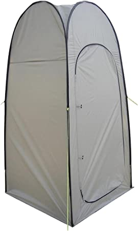Olpro WC Pop Up Toilet and Utility Tent Tan