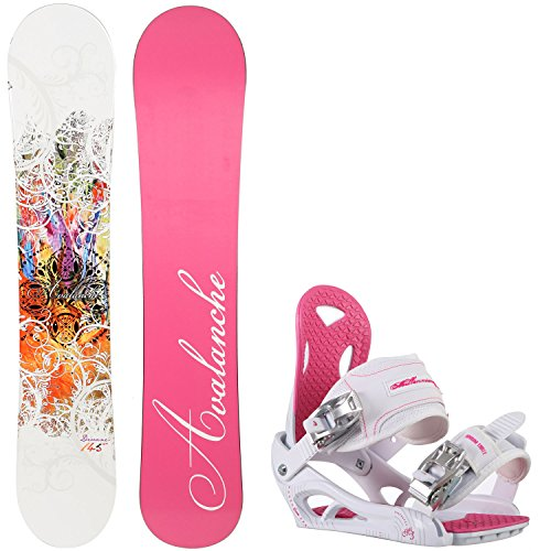 Avalanche Divane 145cm Womens Snowboard + M3 Luna Bindings - Fits US Wms Boots Sized: 7,8,9,10