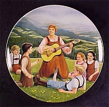 "Knowles: The Sound of Music ""Do-Re-Mi"" Collector Plate 1986 by Edwin Knowles"