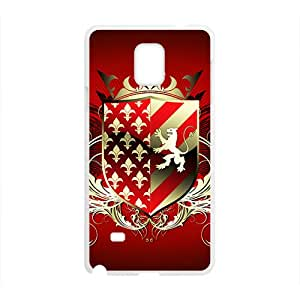 SANYISAN Red Shield Badge Hot Seller High Quality Case Cove For Samsung Galaxy Note4