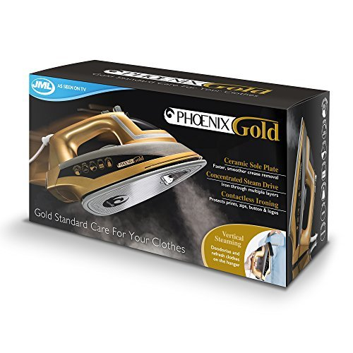 Jml Phoenix Gold: Iron With Built-In Steam Generator & Ceramic Sole Plate 2200W