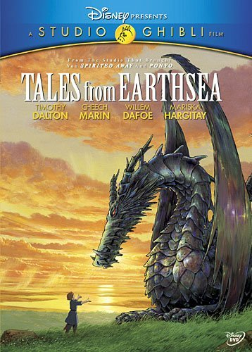 Tales from Earthsea [DVD] by Timothy Dalton by Walt Disney Home Entertainment Presents A Studio Ghibli Film