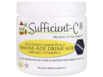 Amazon.com: sufficient-c ® de alta dosis non-gmo Vitamina C ...
