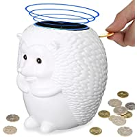 Crafted Hedgehog Statue Guard Station Stand Holder with Coin Collection Savings Bank Function for Echo Dot - Alexa Echo Dot Stands
