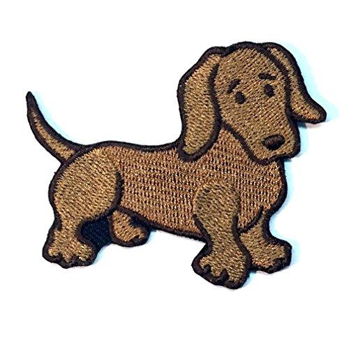 Dachshund Dog Patch - Dachshund Iron on Patch