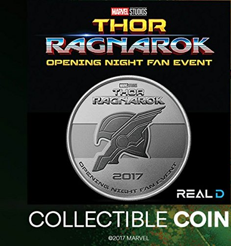 Thor: Ragnarok (2017) Opening Night Fan Event Collectible Coin (Chris Hemsworth, Cate Blanchett)