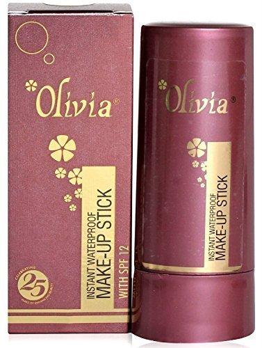 Olivia Pan-stick Instant Waterproof Makeup Factor Foundation SPF Natural MAX -03