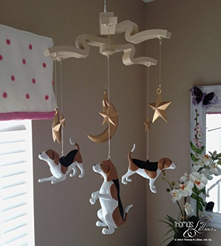 beagle-dog-childrens-mobile-beagle-dog-baby-mobile-sadie-the-beagle-childrens-mobile-handmade-custom