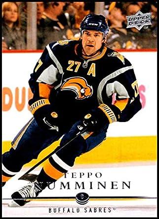 2008-09 Upper Deck  272 Teppo Numminen NM-MT Buffalo Sabres Oficial NHL 242b3621e