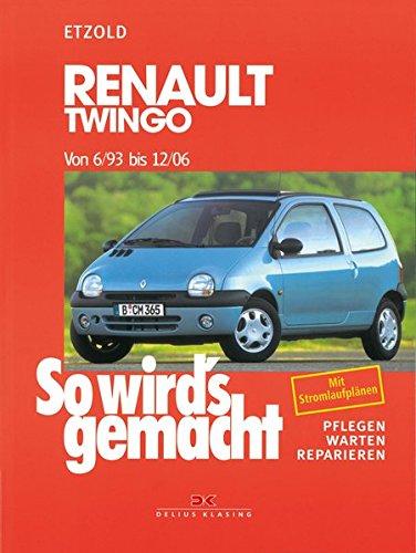 So wirds gemacht, Renault Twingo ab 6/93: Pflegen - warten - reparieren: Amazon.es: Hans-Rüdiger Etzold: Libros en idiomas extranjeros