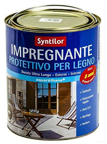 Impregnante Legno 05 L Ad Acqua Satinato Syntilor Protettivo