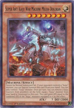 YuGiOh : SHVI-EN088 1st Ed Super Anti-Kaiju War Machine Mecha-Dogoran Rare Card - ( Shining Victories ) by Deckboosters