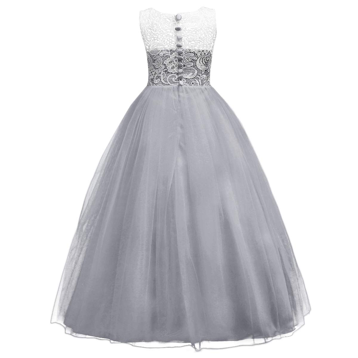 Flower Girls Tulle Lace Dress Communion Pageant Birthday Party Wedding Dress