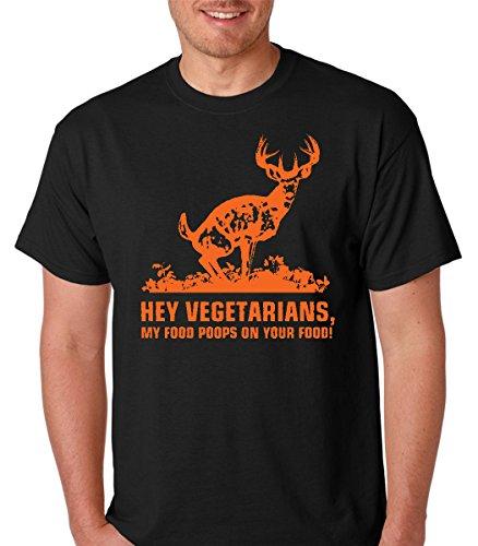 raw-t-shirts-hey-vegetarians-my-food-poops-on-your-food-deer-hunt-premium-mens-t-shirt-xx-large-blac