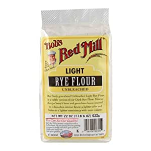 Amazon.com : One 22 oz Bob's Red Mill Light Rye Flour
