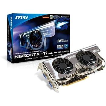 MSI GeForce GTX560 Ti 1 GB DDR5 2DVI/Mini HDMI PCI-Express Video Card N560GTX TI TWIN FROZR II OC