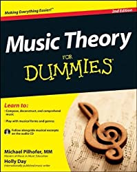 Music Theory For Dummies: with Audio CD by Pilhofer, Michael, Day, Holly (2011) Paperback