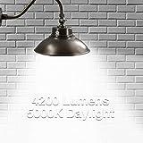 14in. Bronze LED Gooseneck Barn Light 42W 4200lm