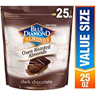 Blue Diamond Almonds, Oven Roasted Cocoa Dusted Almonds, 25 Ounce