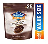 roasted cocoa powder - Blue Diamond Oven Roasted Cocoa Almonds, Dark Chocolate Flavor, 25 Ounce