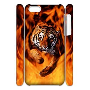 LIULAOSHI Tiger Animal Phone Case for iphone5c 3D [Pattern-5] by mcsharks