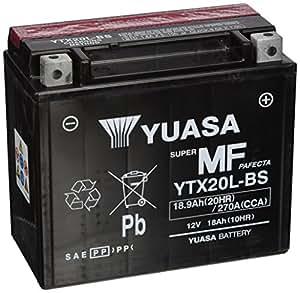 Las baterías Yuasa YTX20L-BS
