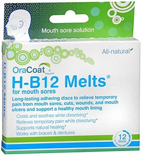 OraCoat H-B12 Melts - 12 discs, Pack of 4 ORAHEALTH USA