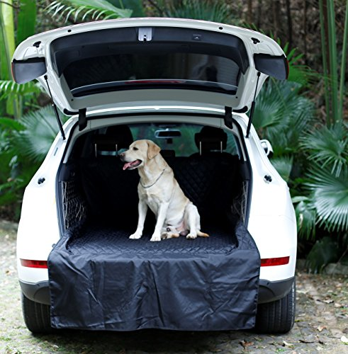 (UsefulThingy Cargo Liner Car Trunk Cover for SUV Honda Jeep Toyota Nissan Ford Chevy Subaru Kia - Floor Mat, Premium Waterproof Material, 2 Colors)