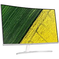"Acer ED322QA 31.5"" 75Hz FHD FreeSync HDR VA Curved Gaming Monitor - Silver"