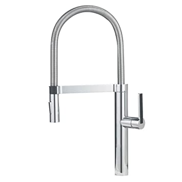 Blanco 441331 Culina Semi-Pro Kitchen Faucet, Chrome - Touch On ...