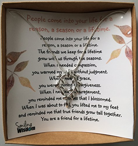 Smiling wisdom vine leaf gift set friendship vine leaf Gifts to show appreciation to friend