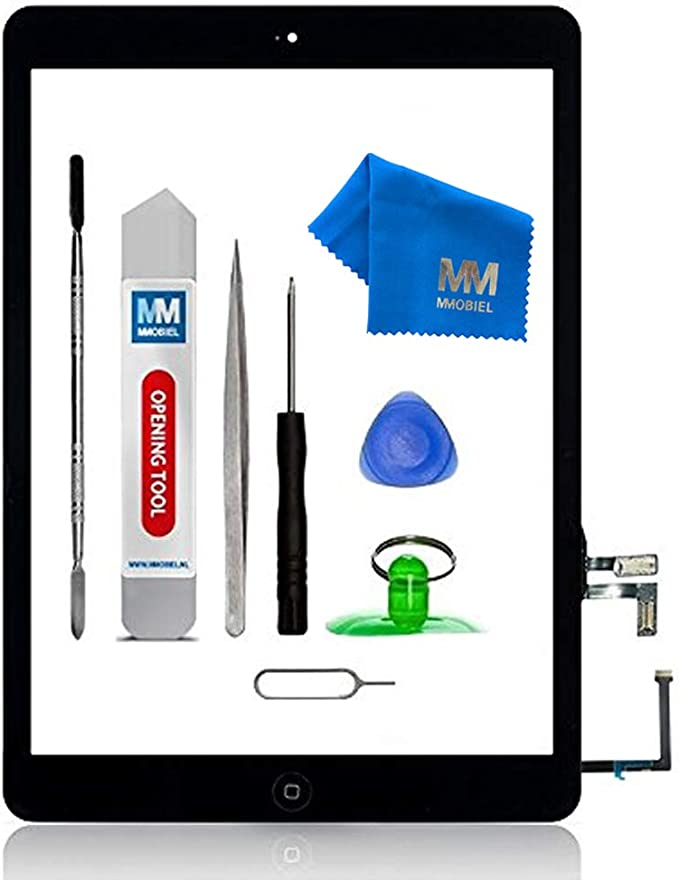 Mmobiel Digitizer Compatible With Ipad Air Black 9 7 Inch 2013 Touchscreen Front Display Replacement With Tools Elektronik
