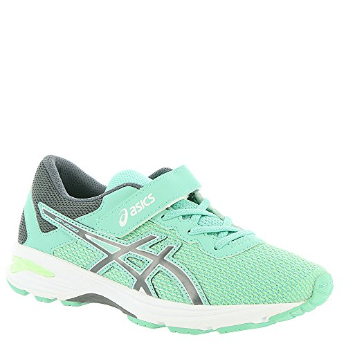 ASICS Kids Baby Girl's GT-1000 6 PS (Toddler/Little Kid) Patina Green/Carbon/Opal Green 3 M US Little Kid