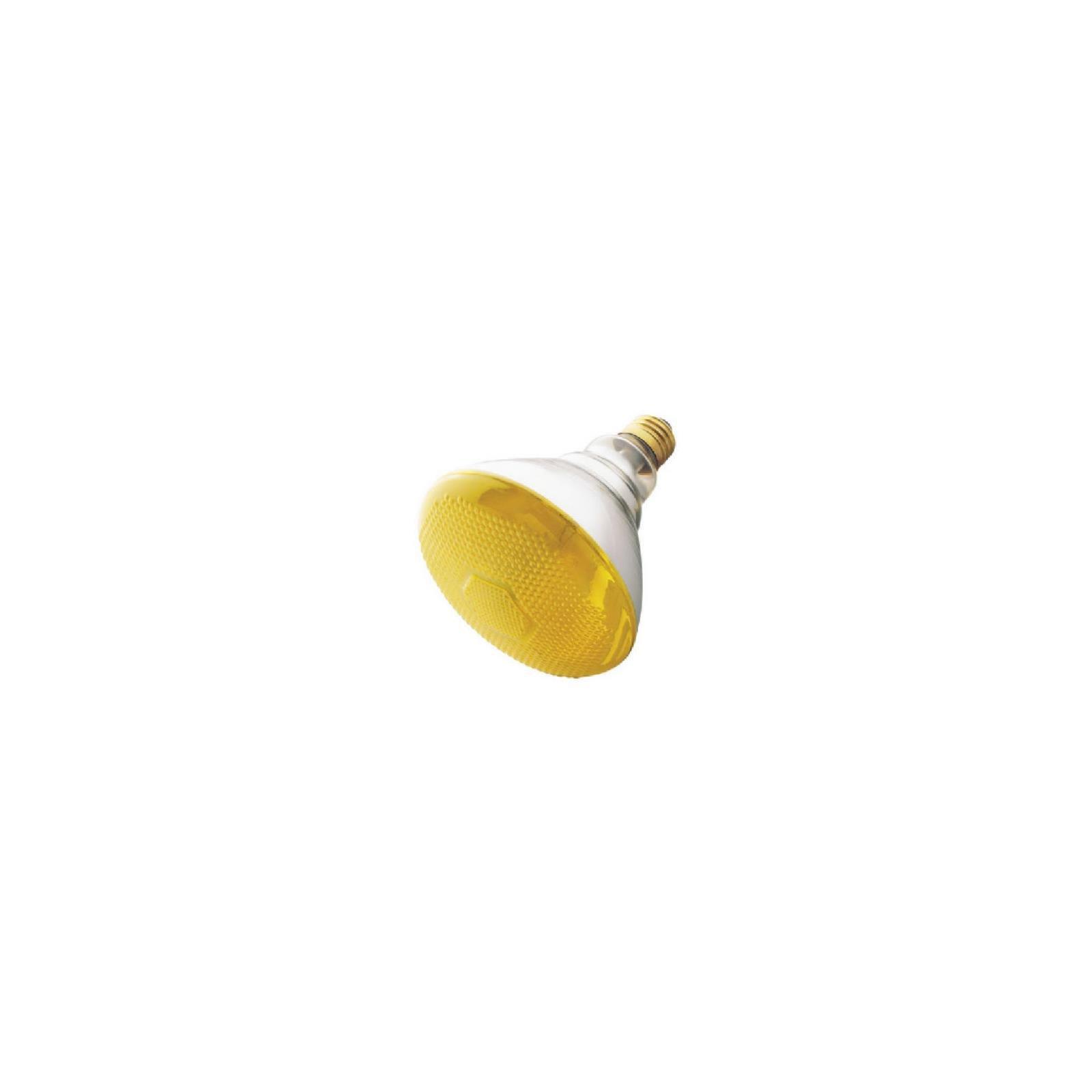Westinghouse 0440900, 100 Watt, 120v Yellow Incandescent BR38 Light Bulb - 2000Hr, 12-Pack
